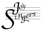 Joy Singers logo.